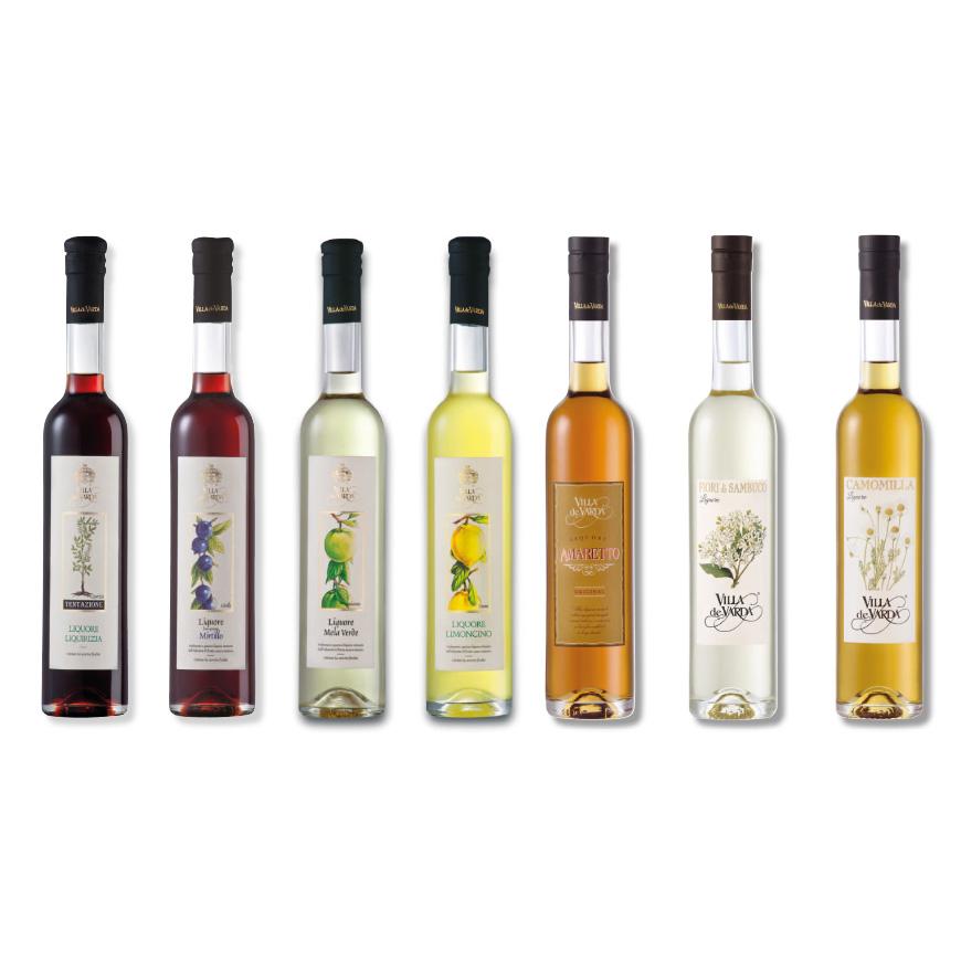 liquori da mezzo litro