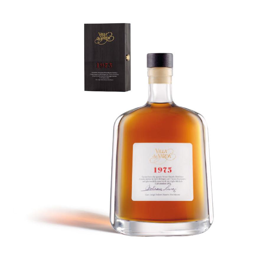 1975 distillato stravecchio di vino Villa de varda